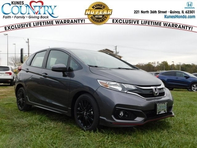 2018 Black Honda Fit