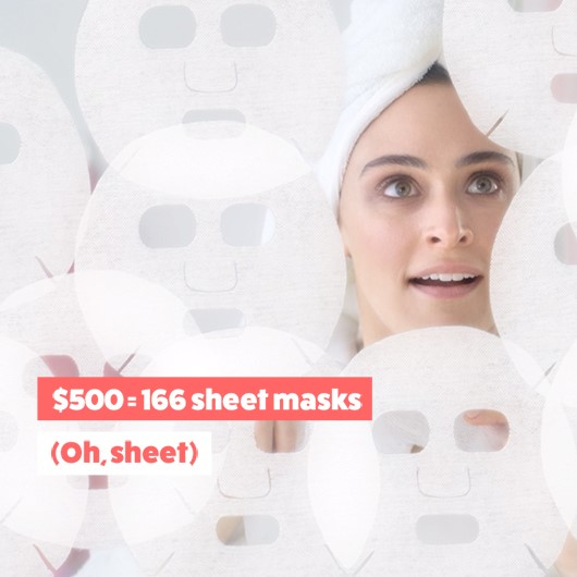 166 sheet masks
