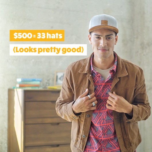 33 hats