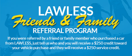 Friends & Family Referral