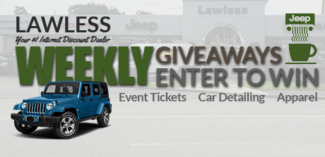 Jeep Weekly Giveaways
