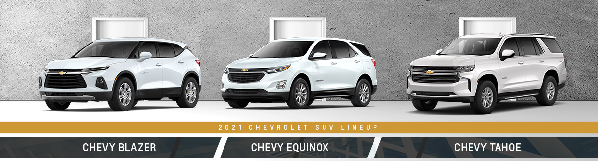 2021 Chevrolet SUVs | Spirit Lake, IA
