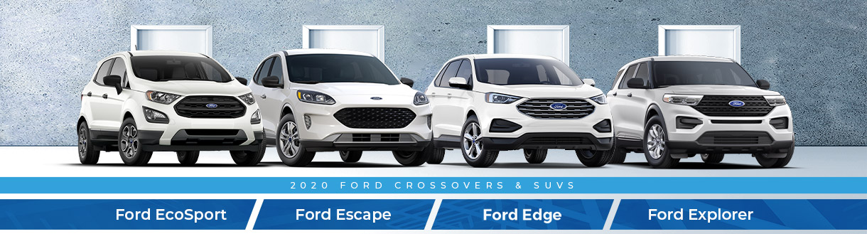 2020 Ford Crossover & SUV Lineup | Spirit Lake, IA