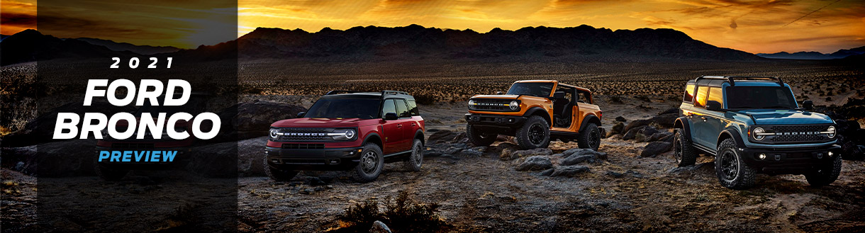 2021 Ford Bronco Preview | Spirit Lake, IA