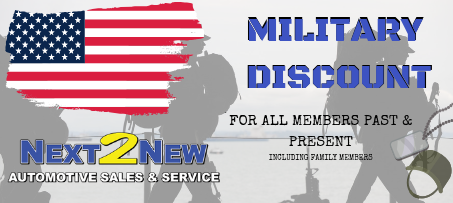 Military Discount on all used cars for sale in Sioux Fall SD