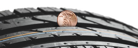 Penny Tire Test