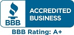 BBB Accredited Business, BBB Rating: A+
