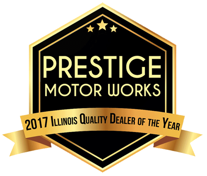 Prestige Motor Works 2017 Illinois Quality Dealer of the Year