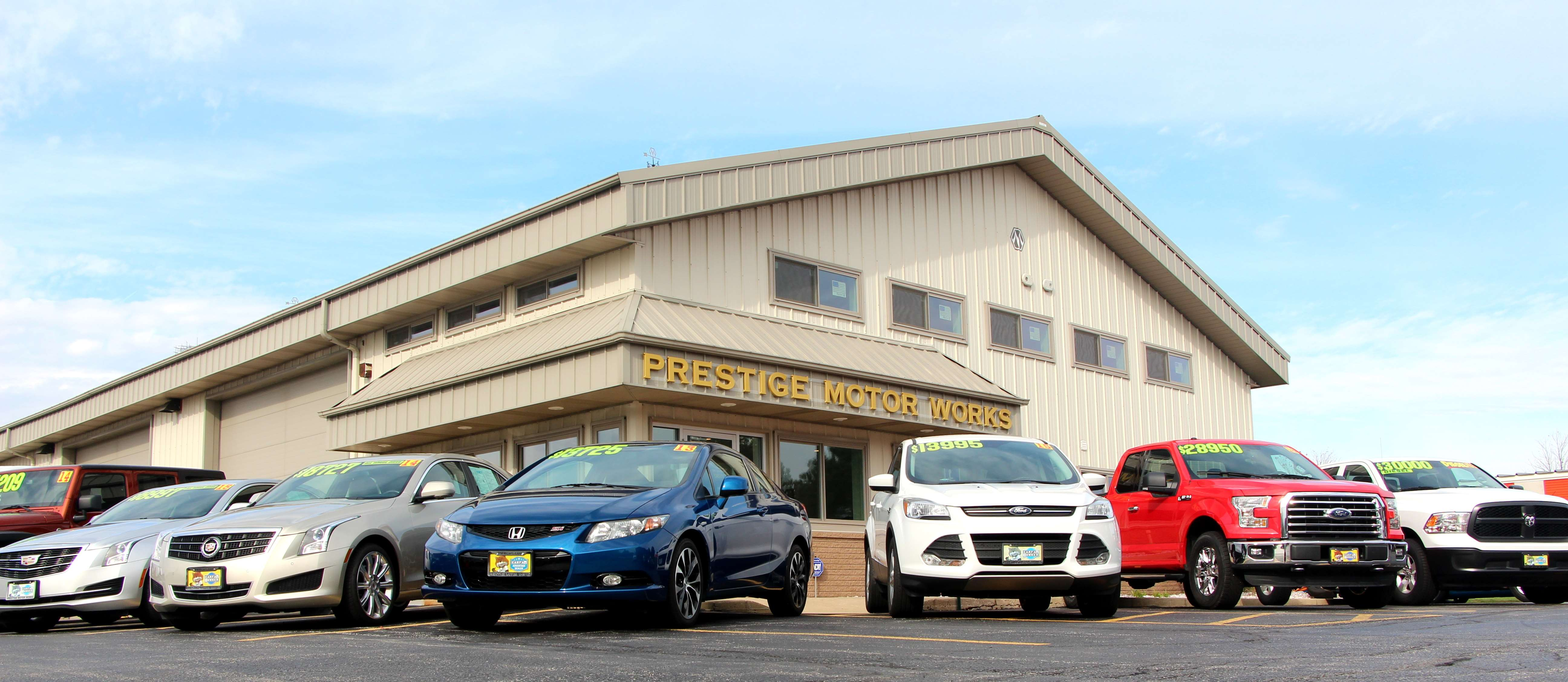 About Us | Naperville, IL | Prestige Motor Works
