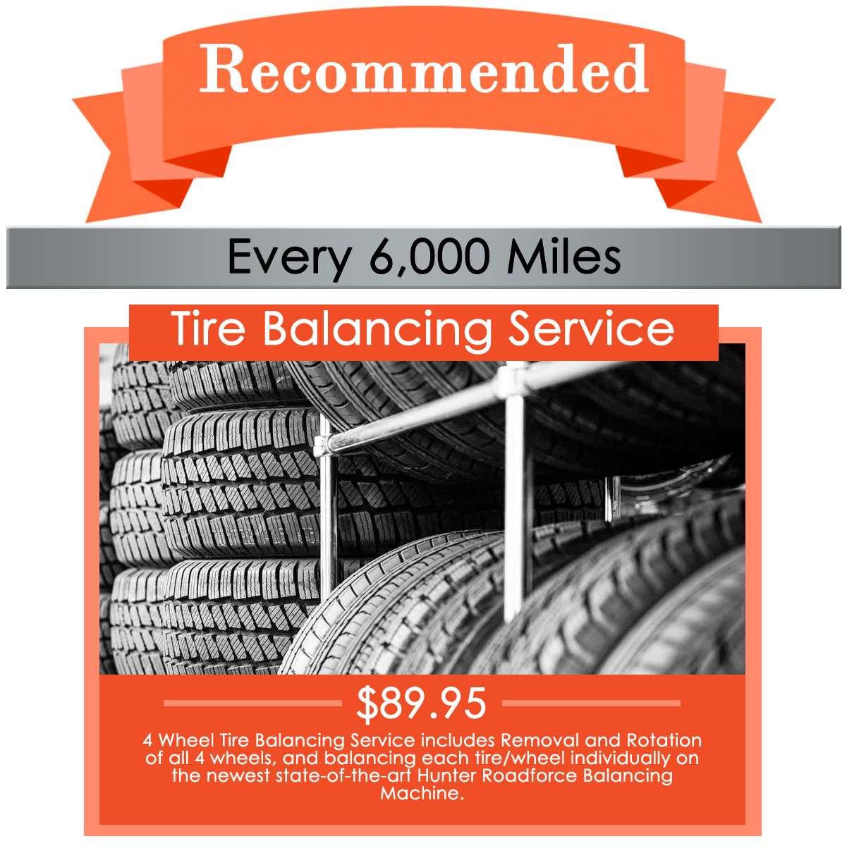 Tire Balancing Service
