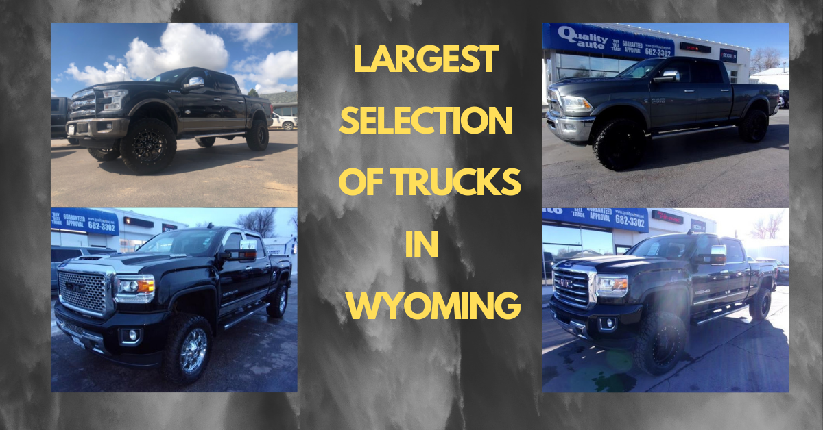 Certified Pre Owned Cars Near Me >> Used Trucks For Sale Near Me | Gillette, WY | Quality Auto of Gillette
