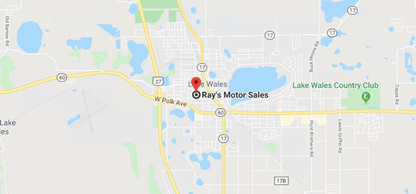 Map of Ray's Motor Sales