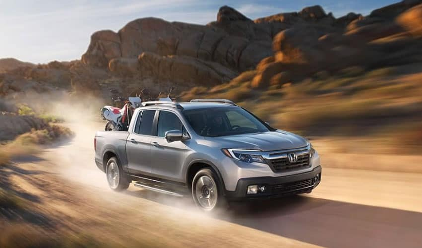 Honda Ridgeline Driving Carry Moterbikes