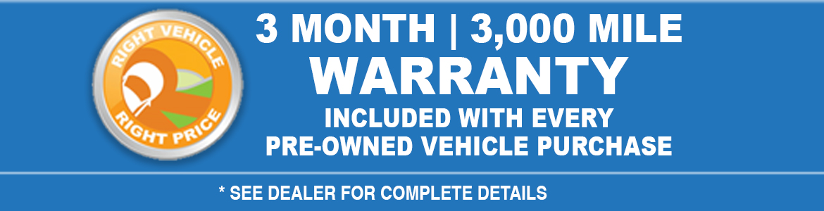 Warranty see dealer for detaisl