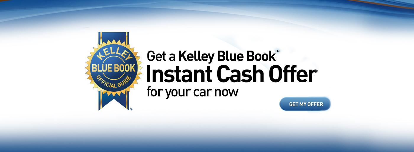 Kelley Blue Book Instant Cash Offer