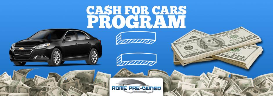 Cash For Cars Program