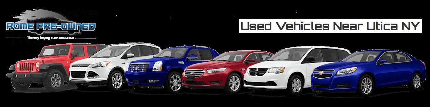 Used Vehicles Near Utica NY