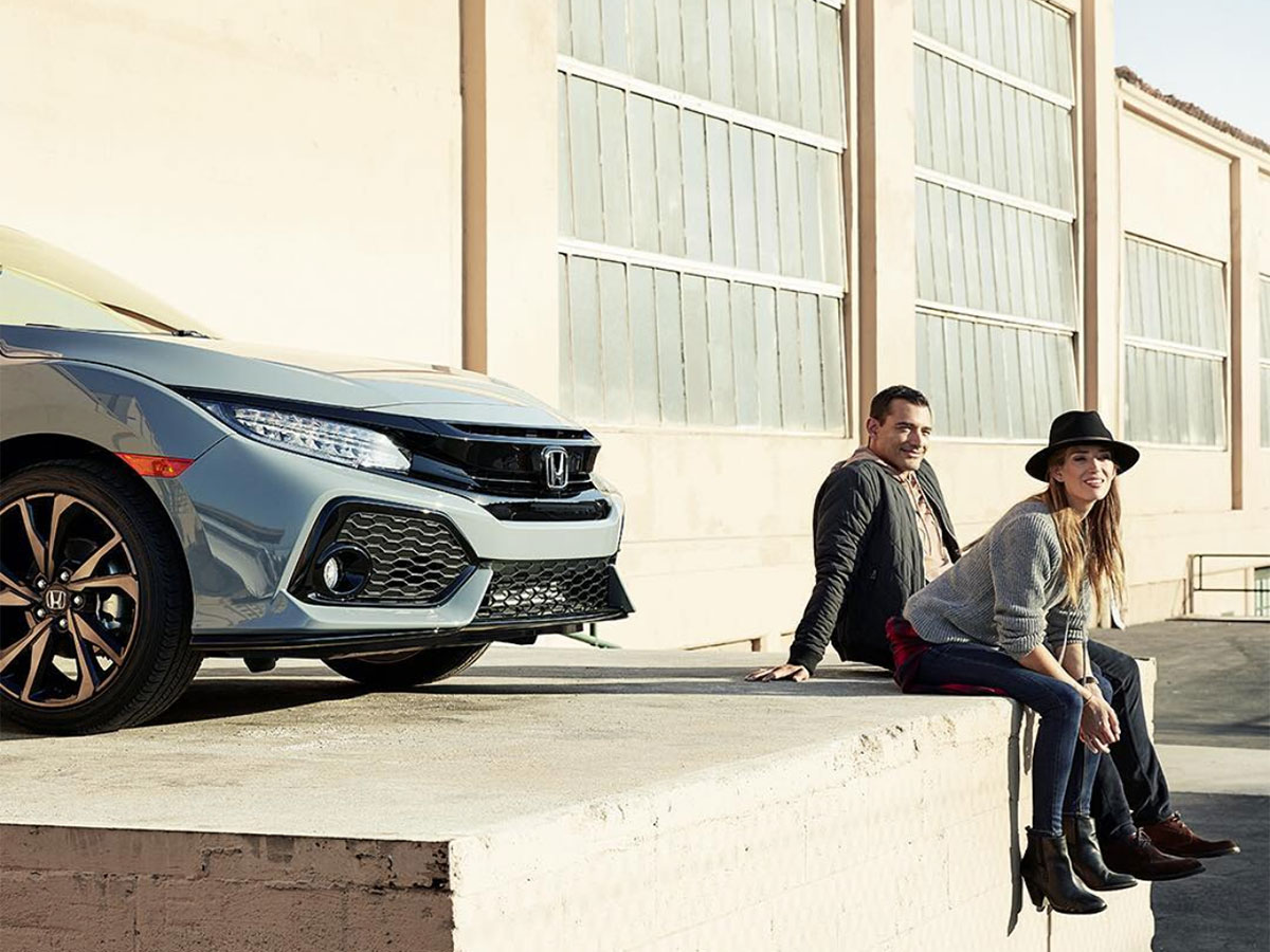 Honda Civic With Drivers