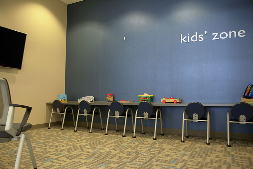 Service Department Kid's Play Area