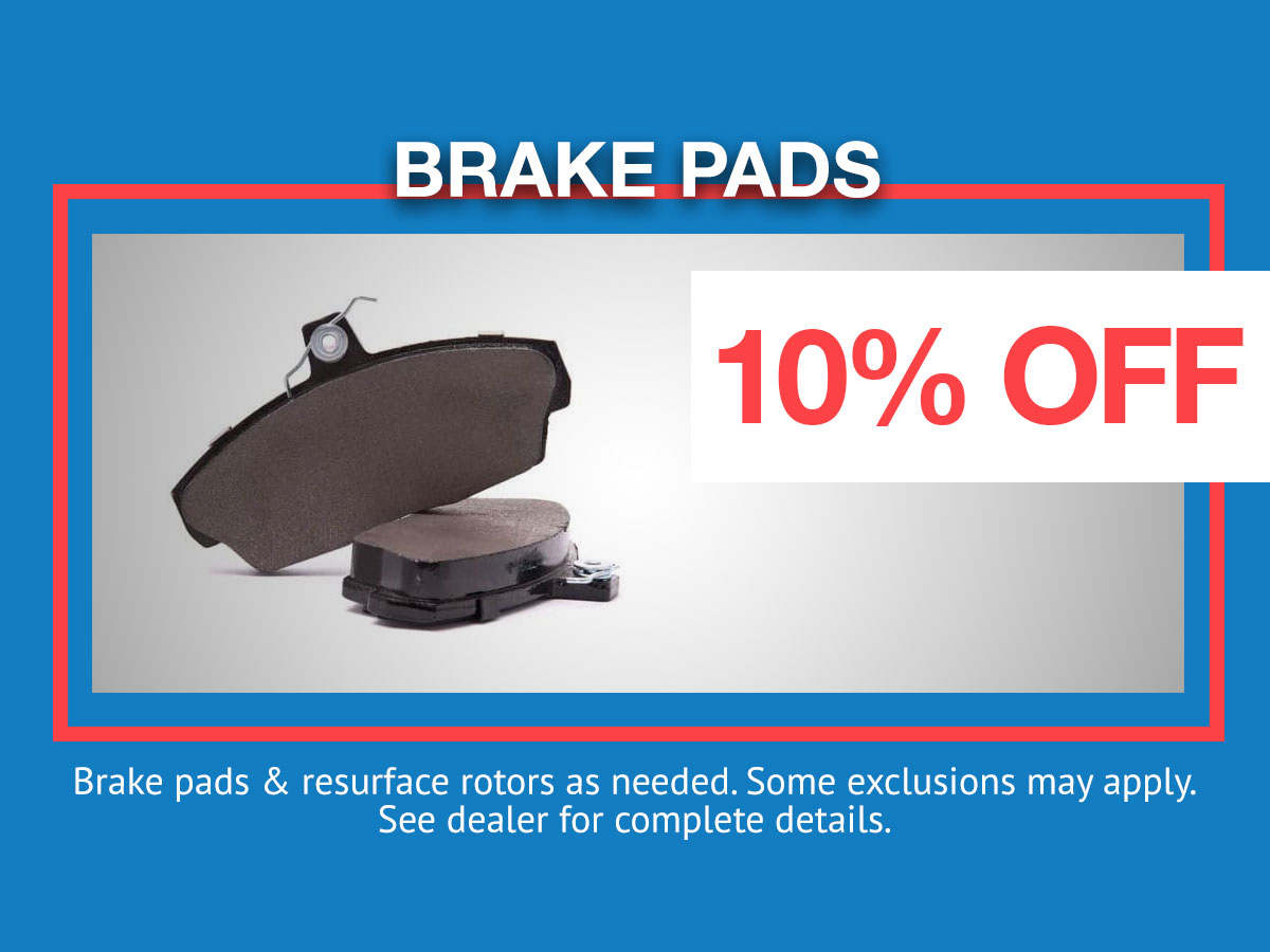 Honda Brake Pads Parts Coupon
