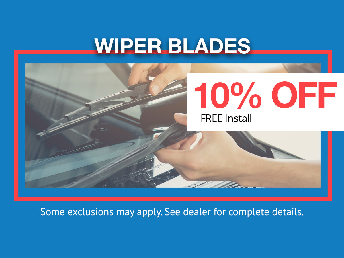 Honda Wiper Blades Parts Coupon