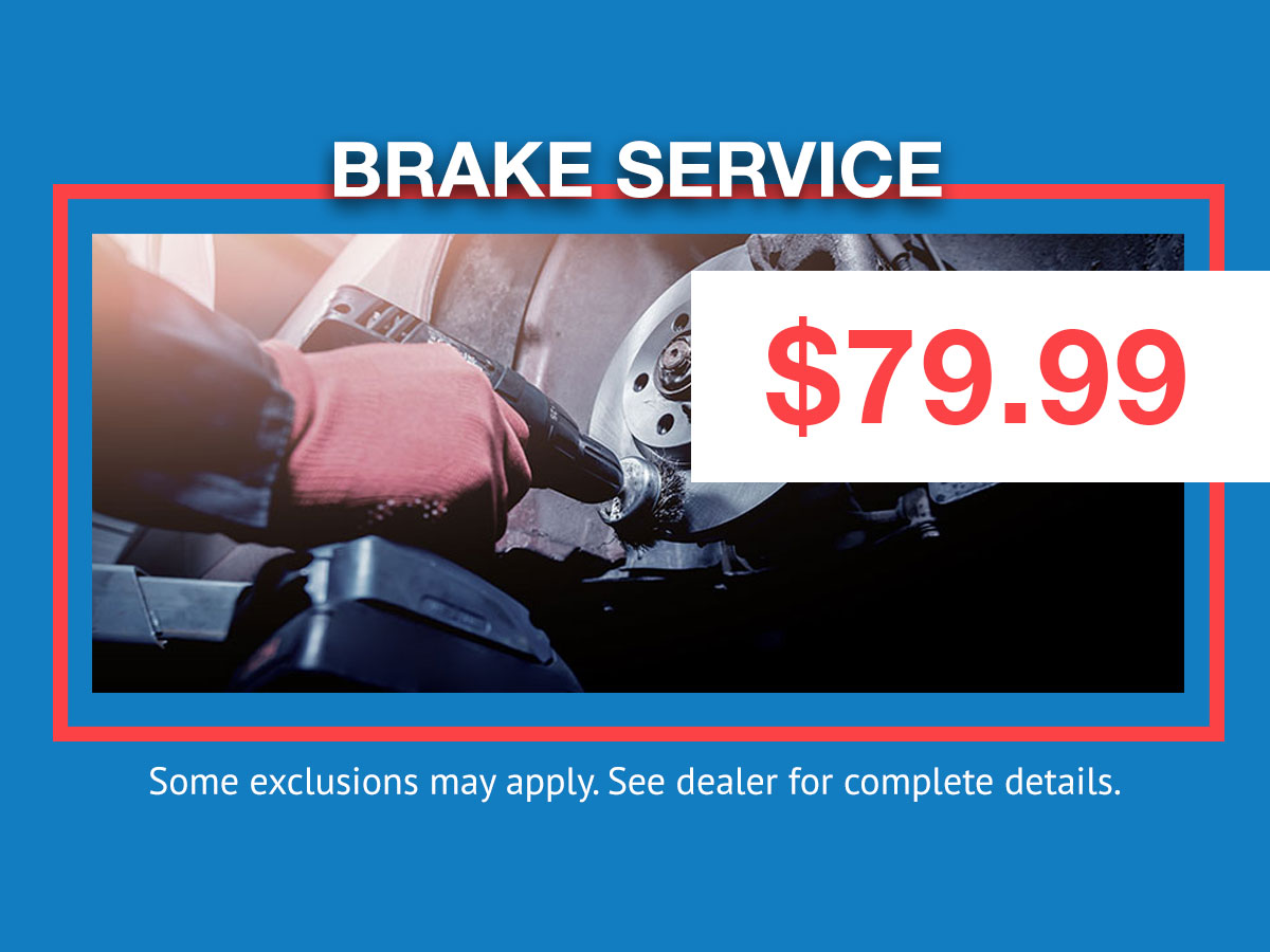 Honda Brake Service Coupon
