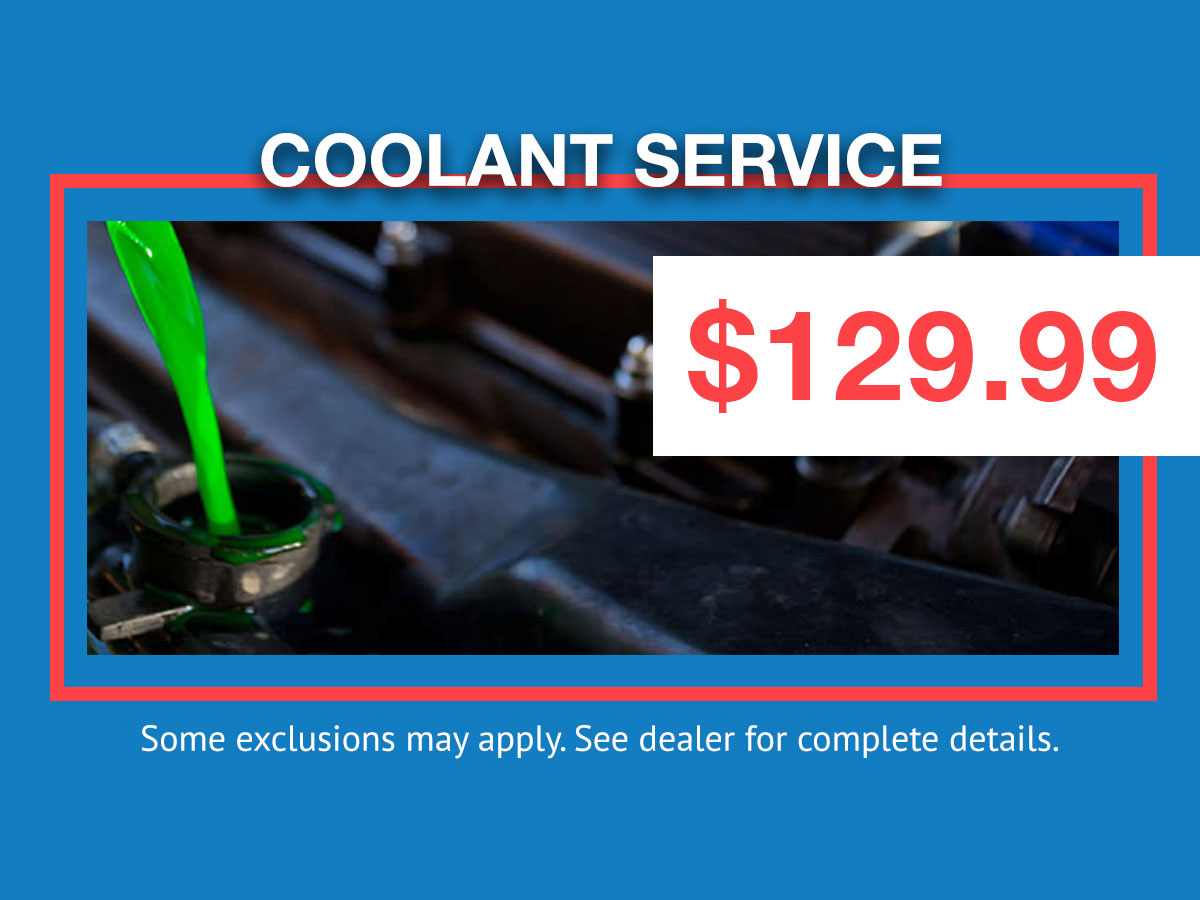 Honda Cooling System Service Coupon