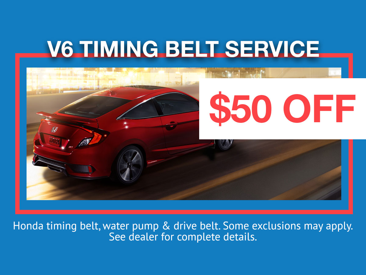 Honda Timing Belt Service Coupon