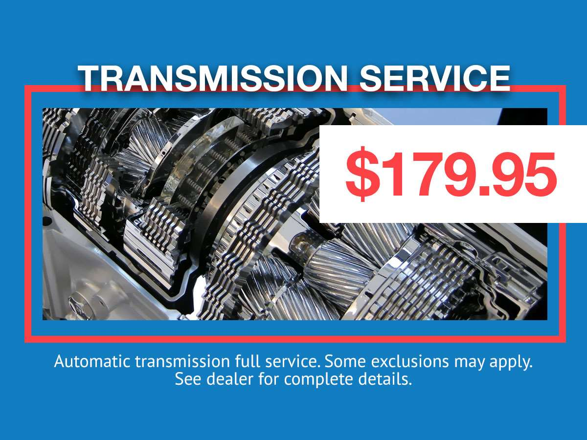 Transmission Service Special Coupon