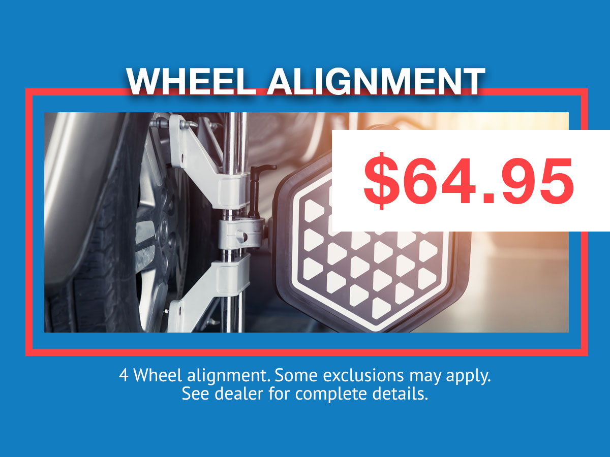 Honda Alignment Coupon