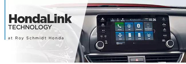 Roy Schmidt Honda - HondaLink Technology