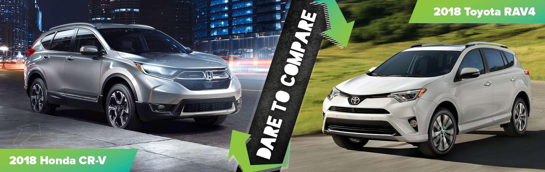 2018 Honda CR-V vs. 2018 Toyota RAV4