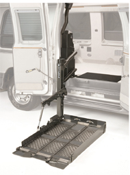 Vangater 2 wheelchair lift