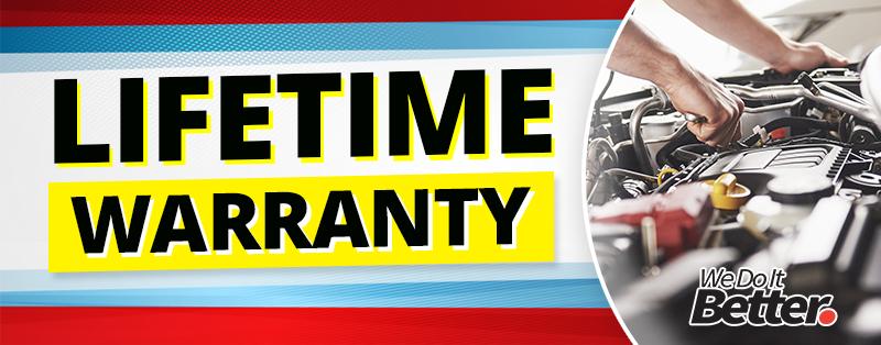 Sisbarro Truck Store Lifetime Warranty