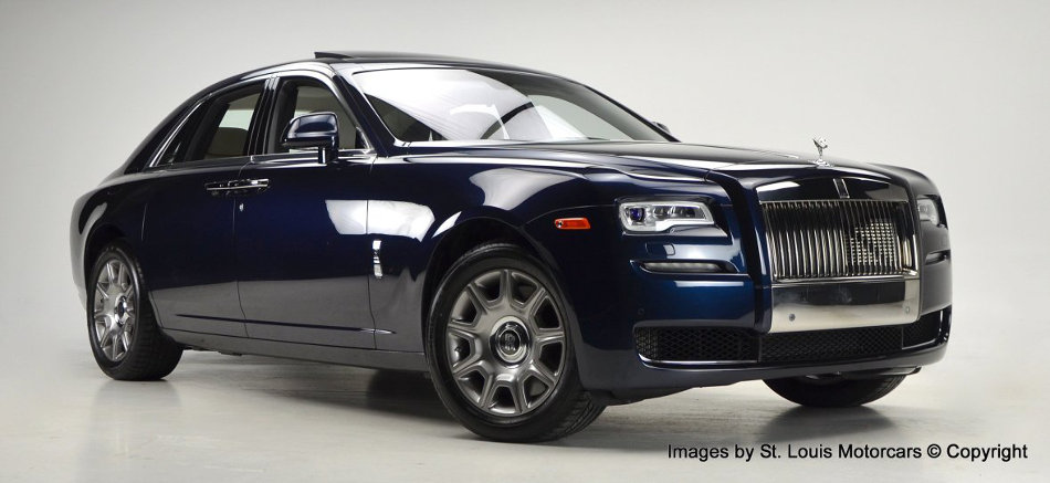 2015 Rolls-Royce Ghost Exterior Front View