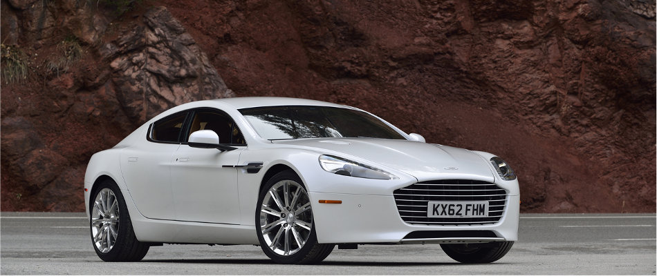 2016 Aston Martin Rapide S Exterior Front View