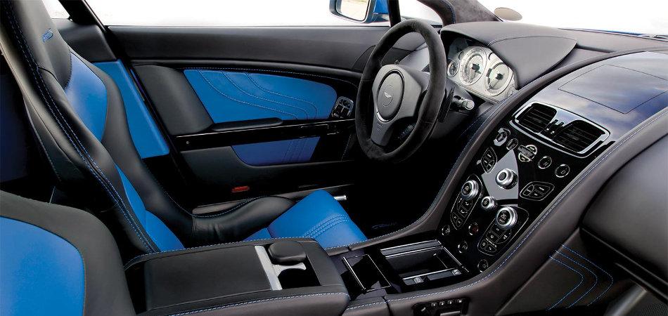 2016 Aston Martin V8 Vantage Interior Console