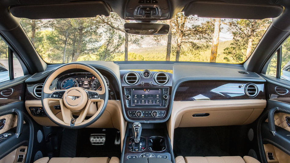 2016 Bentley Bentayga Interior Console