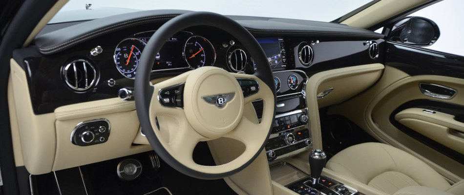 2016 Bentley Mulsanne Interior Console