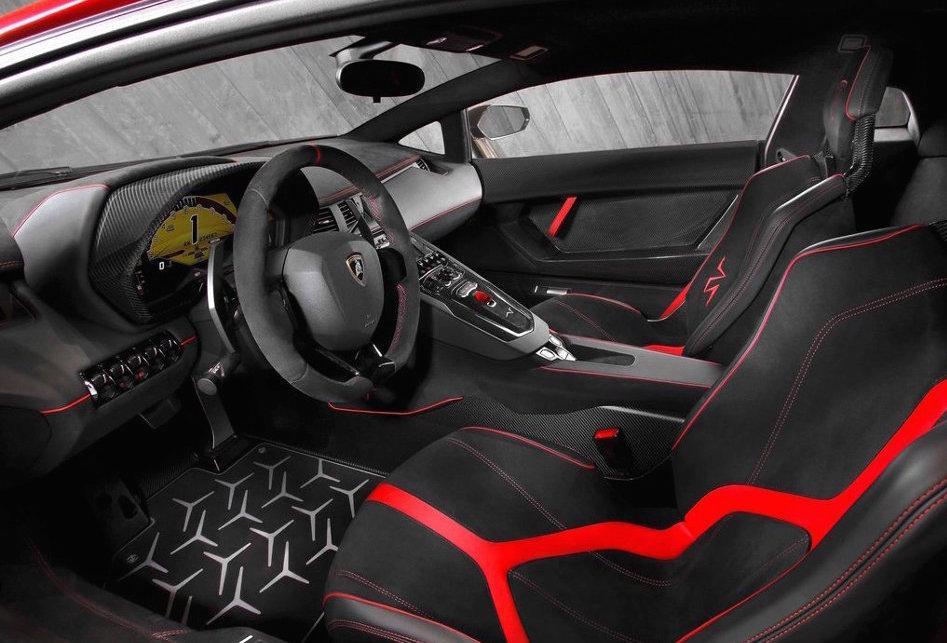 2016 Lamborghini Aventador LP750 Interior Console