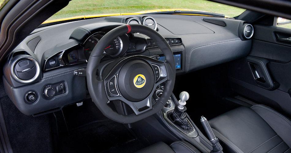 2016 Lotus Evora 400 Interior Console