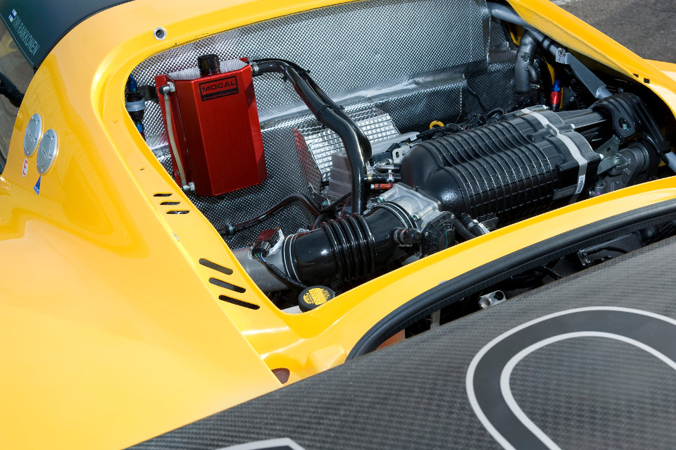 2016 Lotus Exige V6 Cup Engine View