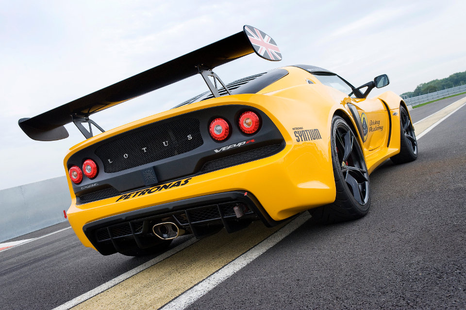 2016 Lotus Exige V6 Cup Rear View