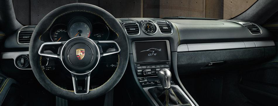 2016 Porsche Cayman GT4 Interior Console