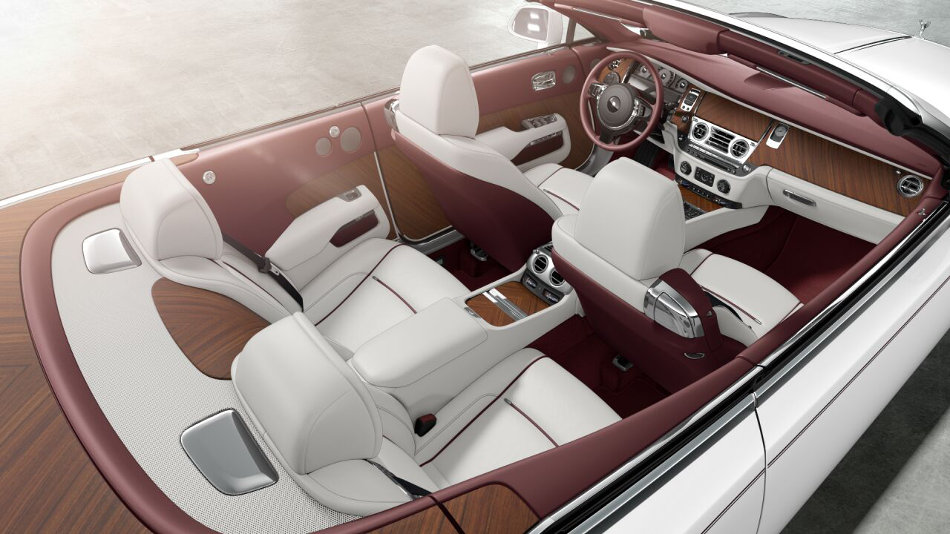 2016 Rolls-Royce Dawn Interior