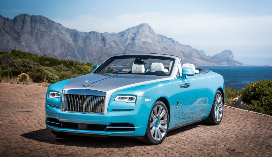 2016 Rolls-Royce Dawn Parked Near Ocean Front
