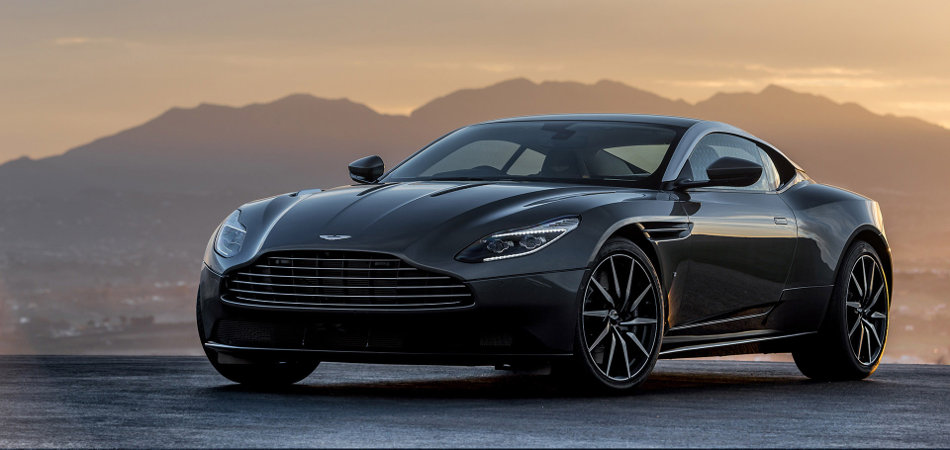 2017 Aston Martin DB11 Front View