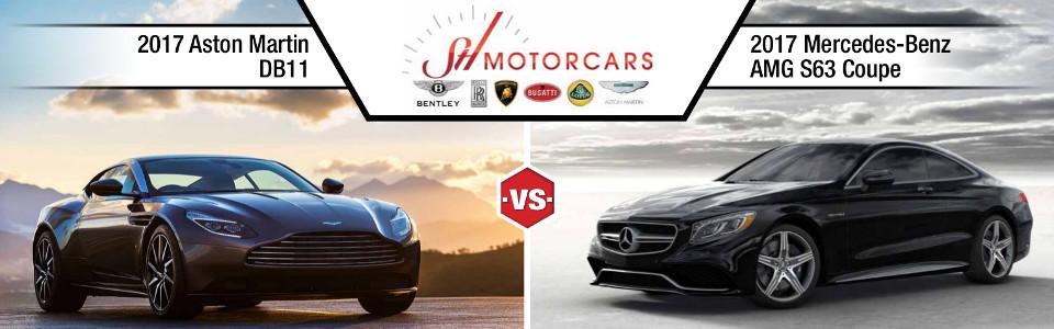 2017 Aston Martin DB11 vs. Mercedes-Benz AMG S63 Coupe