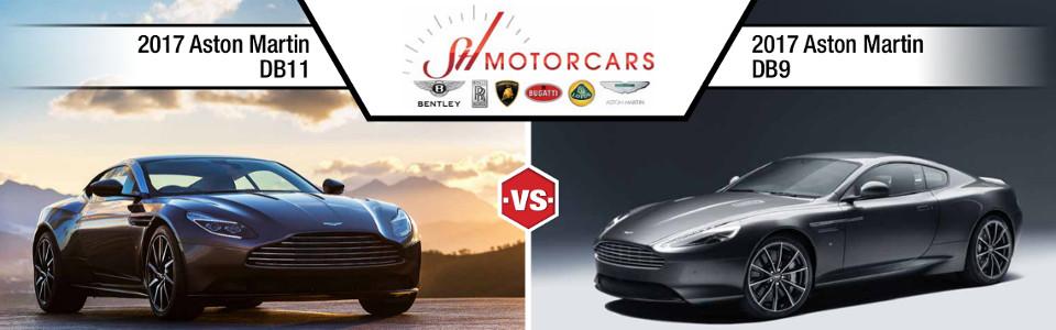 2017 Aston Martin DB11 vs DB9