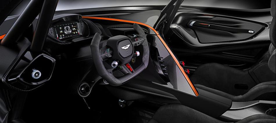 Aston Martin Vulcan Interior Console